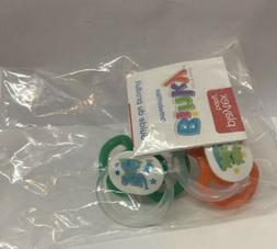 silicone binky pacifiers newborn 0 6 months