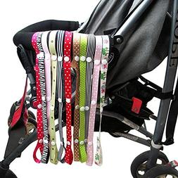 10 pcs Baby Sippy Cup Holder Strap Pacifier Clip Holder Stro
