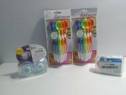 Munchkin Soft Spoons, Avent Pacifiers, Mini Air Pacifiers.