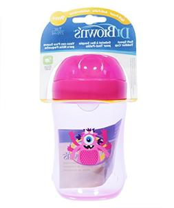 Dr Brown's 9 Ounce Soft Spout Training Cup - Girl