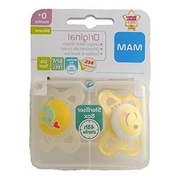 Mam Original Soother Twin Pack 0m+