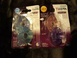 Philips Avent Soothie Pacifier 0-3 Months And 3+ Months 2 pa