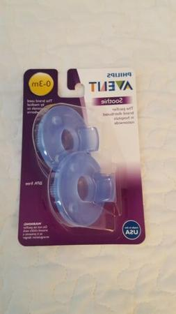 Philips Avent Soothie pacifiers 0-3 months blue 2 pack
