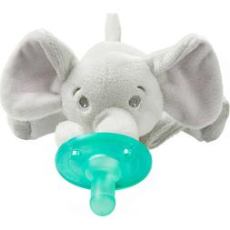 soothie snuggle pacifier 0m elephant scf347 03