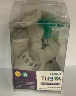 Philips Avent Soothie Snuggle Pacifier, 0m+, Elephant, SCF34