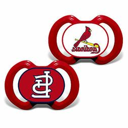 St Louis Cardinals Pacifiers 2 Pack Set Infant Baby Fanatic