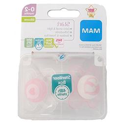 MAM Start Soother Twin Pack - 0-2m