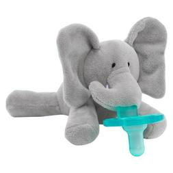 WubbaNub Stuffed Animal and Plush Elephant Grey Infant Baby