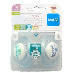 MAM Style - I Love Mummy & I Love Daddy Soother Twin Pack -