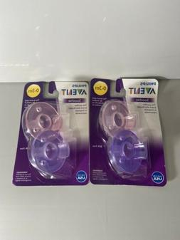 Philips Avent Super Soothie Pacifier BPA Free 0-3 Month, 2 P