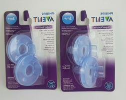 Philips AVENT SUPER SOOTHIE PACIFIER BPA Free 3+ Month 2 Pac