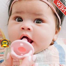 Sweetie Soother Pacifier Set - Silicone Newborn Pacifiers wi