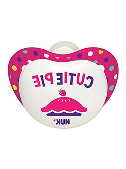 NUK Small Talk Big Button Pacifier in Assorted Colors and Pa