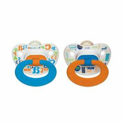 NUK Day and Night Glow Pacifier, 0-6 Months, Boy, 2 pk