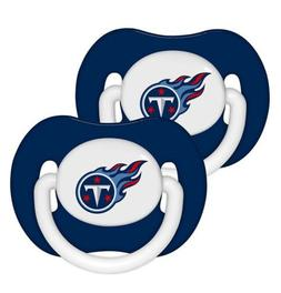 Tennessee Titans Baby Infant Pacifiers, 2 PACK! Baby Fanatic