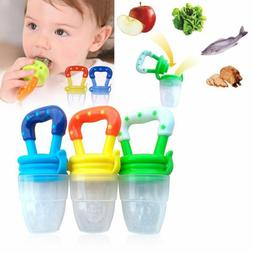 Fresh Food Nibbler Pacifier Feeder Kid Fruit Feeder Feeding