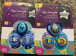 tommy tippee pacifiers set of 6 0