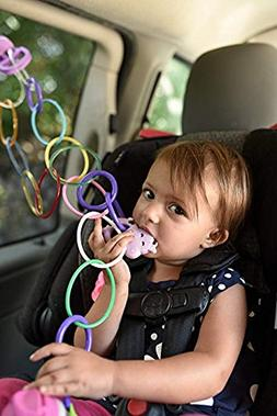 Drop It Baby Baby Toy Sippy Cup Strap Pacifier Bottle Clip H