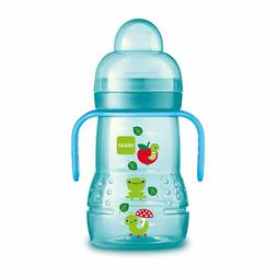 MAM Trainer Cup Trainer Cups for Babies with Handles Boy 8 O