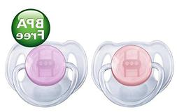 Philips Avent Translucent Toddler Pacifiers 6-18 Months - 2