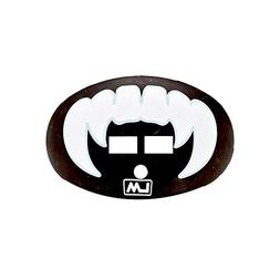 LOUDMOUTHGUARDS Vampire Fang Football Mouth Guard - Stealth
