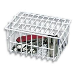 White Dishwasher Basket by Better Houseware