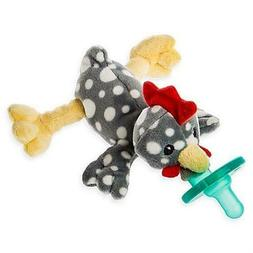 WubbaNub Itsy Rocky Chicken Pacifier Stuffed Animal By Mary