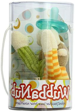 Mary Meyer Wubbanub Plush Pacifier, Mango Monkey