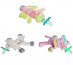 Mary Meyer Wubbanub Plush Pacifier, Limited Edition Set