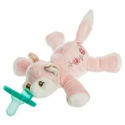 Mary Meyer Wubbanub Soft Toy and Pacifier, Itsy Glitzy Fox