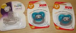 x 3 0-6 Months Pacifier Lot NUK Orthodontic Philips Avent Fr